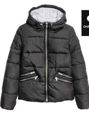 Тёплая демисезонна куртка от h&m
