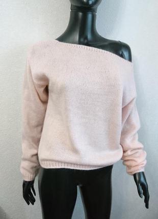 Шикарный свитер оверсайз супер модная модель