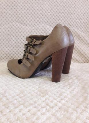 Женские высокие туфли ботинки ботильёны3 фото