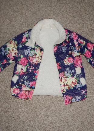 Куртка для девочки демсезонная