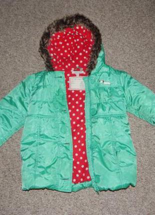 Курточка евро-зима m&s indigo collection