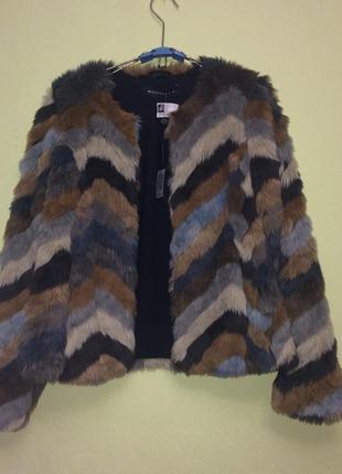 Нарядная шубка шуба полушубок весна/осень курточка куртка пальто плащ
