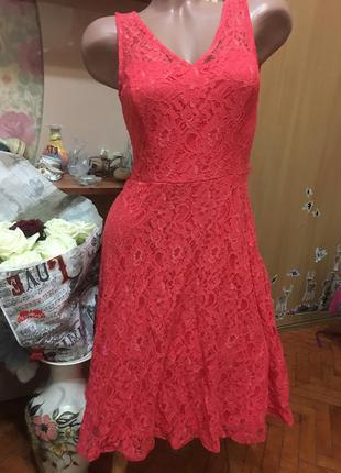 Нереально красивое ажурное платье f&f