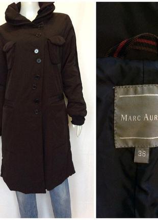 Легкое весеннее демисезонное стильное пальто оригинальный крой