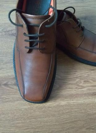 Туфли мужские кожаные marks & spencer
