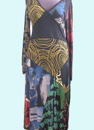 """Платье известного бренда """"desigual"""" 100% вискоза"""
