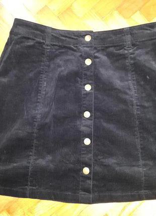 Вельветовая юбка от george! p.-40