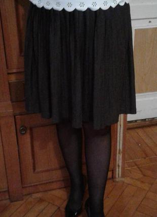 Плиссированная юбка от massimo dutti