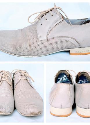 Туфли ручной работы carnaby 43 размера