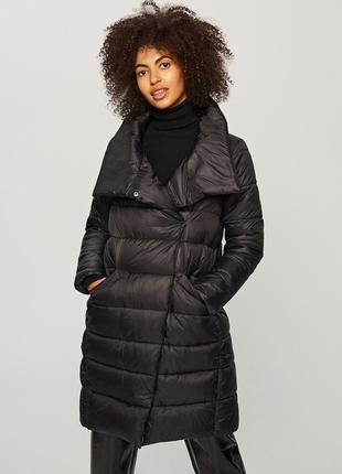 Поделиться:  элегантное пуховое пальто пуховик длинный теплый