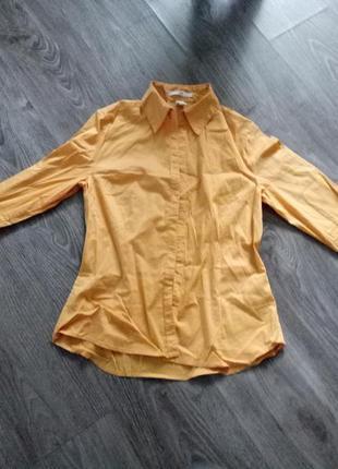 """Солнечная рубашка блуза """"акция -50% на вторую вещь"""""""