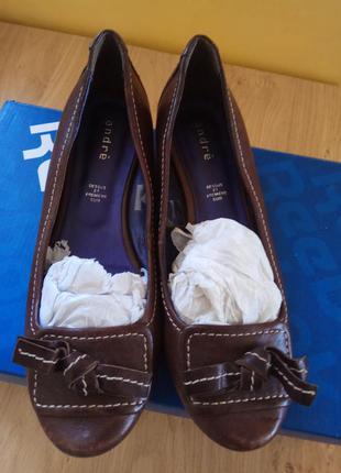 Туфли кожаные andre