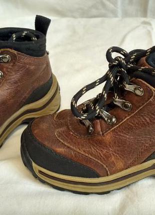 Кожаные ботиночки timberland 22 р (14,5 см)