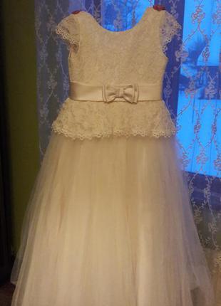 Супер платье для праздника для девочки 8-9 лет