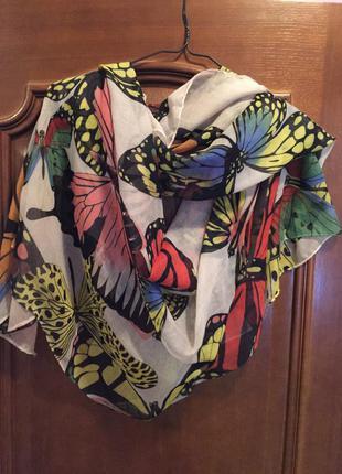 Красивый большой шарф палантин