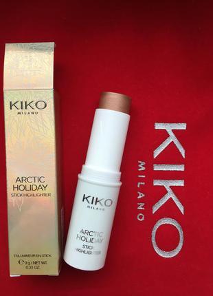 Хайлайтер цвета бронзы kiko milano италия