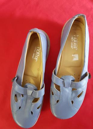 Удобные кожаные туфли hotter