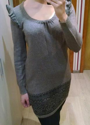 Вязаное платье marks & spencer
