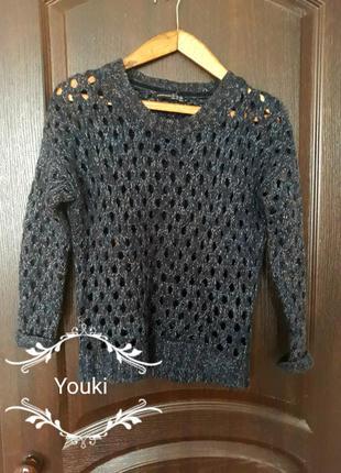 Теплый свитер с люрексом от atmosphere