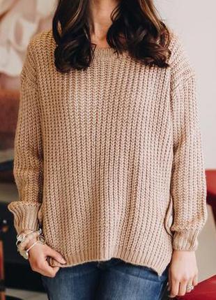 Мягенький свитер оверсайз от asos