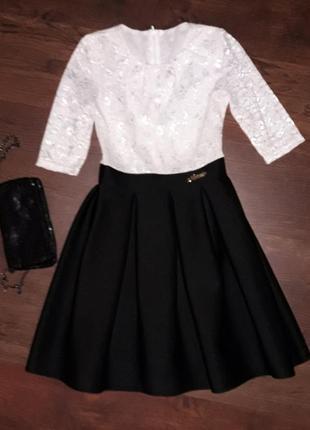 Нарядное школьное платье 11-13 лет