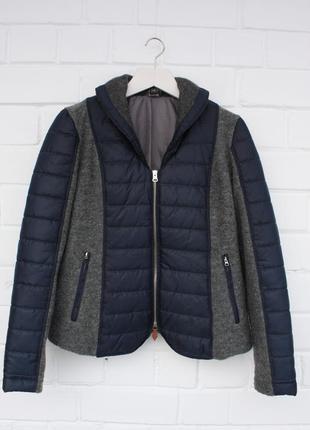 Стеганная короткая куртка на синтепоне best conections германия размер l/12/40.