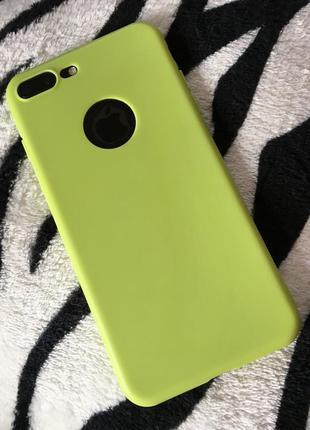 Новый классный матовый  чехол iphone 7+ iphone 7 plus iphone 8+ iphone 8 plus