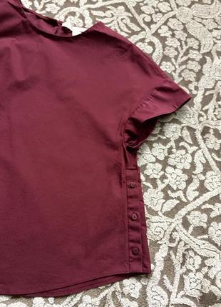 Блуза , футболка , свободного покроя
