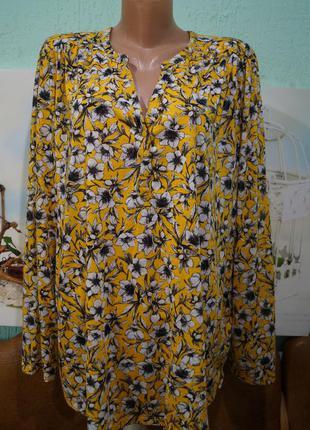 Блуза р.хл,бренд h&m,большой размер
