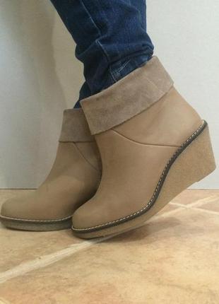 Импортные демисезонные ботинки стелька 23 см