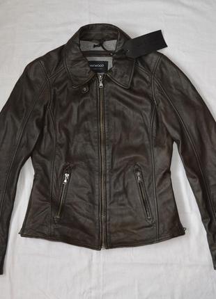 Куртка кожанная oakwood m торг
