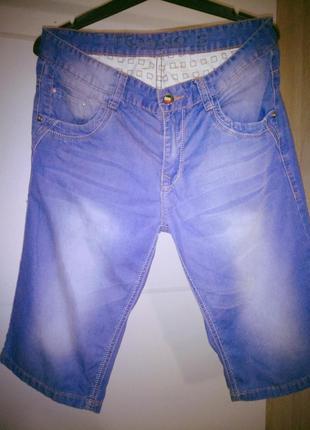 Мужские джинсовые бриджи, шорты