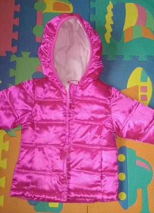 Очень качественная и яркая куртка на девочку