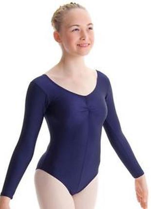 Гимнастический купальник трико для девочки 9-11 лет