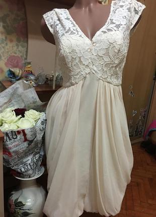 Шикарное шелковое платье coast