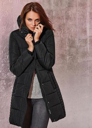 Теплое стеганное пальто (еврозима) от tcm tchibo