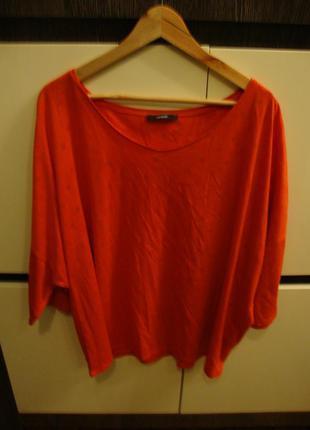 Кофта в горошек, блуза george, батал, 24 размер