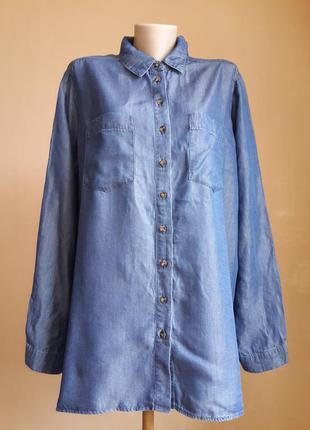Стильная джинсовая рубашка  denim'co голландия