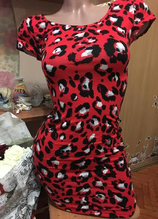 Красивое трикотажное платье new look