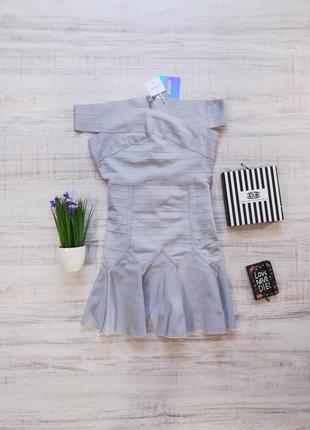 Короткое бандажное платье missguided