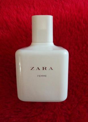 Zara femme духи туалетная вода аромат парфюм зара