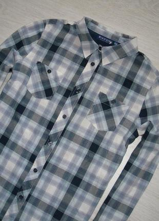 Рубашка в клетку biaggini2 фото
