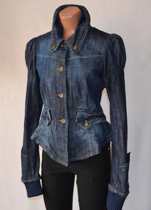 Fornarina - фирменная джинсовая куртка - качество
