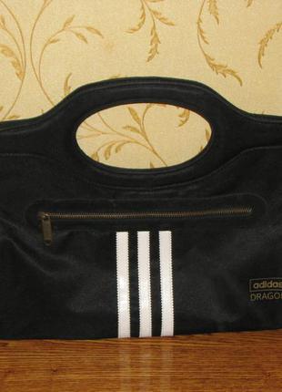 Adidas клатч сумочка 30х20см