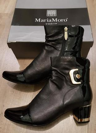 Ботинки maria moro нат.кожа размер 39