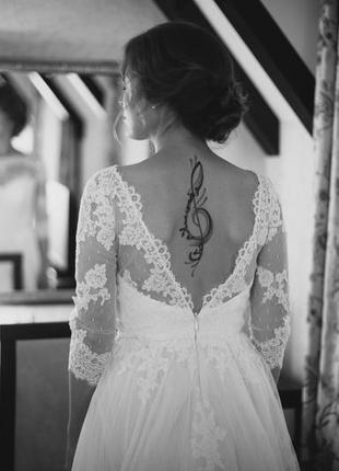 Волшебное свадебное платье laverna от lite
