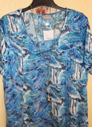 Фирменная блуза-туника сanda германия, размер xl-xxl
