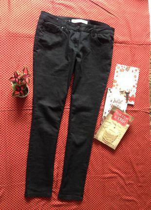 Джинсы next jeans skinny everyday чёрные джинсовые штаны  l