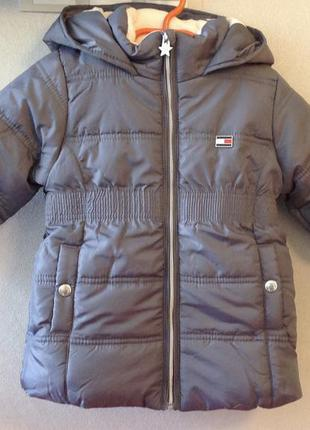 Tommy hilfiger куртка размер 2т рост 86- 92 оригинал америка