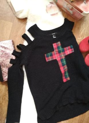 Стильный свитер forever 21